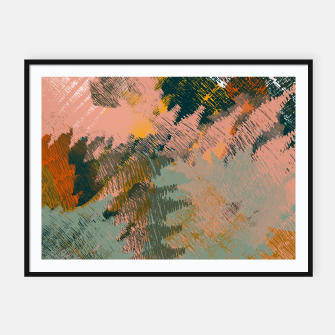Miniaturka Abstract Pattern Framed poster, Live Heroes
