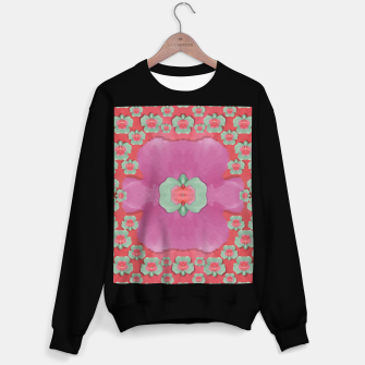 Thumbnail image of fantasy flowers in everything that is around us in a free environment  Sweater regular, Live Heroes