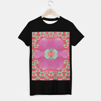 Thumbnail image of fantasy flowers in everything that is around us in a free environment  T-shirt regular, Live Heroes
