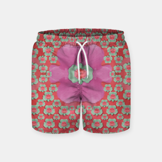 Thumbnail image of fantasy flowers in everything that is around us in a free environment  Swim Shorts, Live Heroes