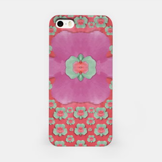 Thumbnail image of fantasy flowers in everything that is around us in a free environment  iPhone Case, Live Heroes
