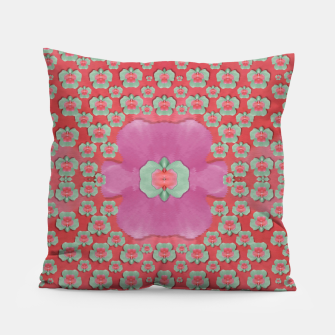 Thumbnail image of fantasy flowers in everything that is around us in a free environment  Pillow, Live Heroes