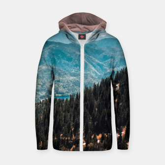 View Cotton zip up hoodie thumbnail image