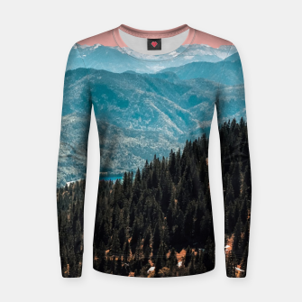 Thumbnail image of View Woman cotton sweater, Live Heroes