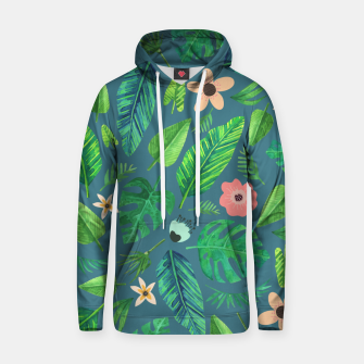Thumbnail image of Tropical Life I  Cotton hoodie, Live Heroes