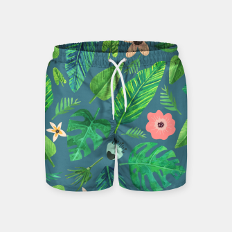 Thumbnail image of Tropical Life I  Swim Shorts, Live Heroes