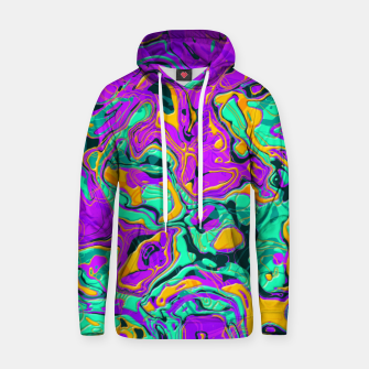 Thumbnail image of Colorful Marble Cotton hoodie, Live Heroes