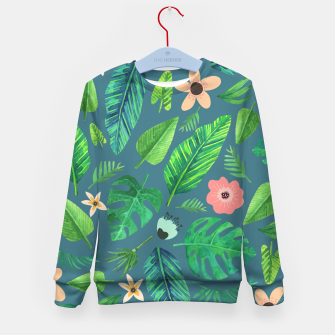 Thumbnail image of Tropical Life I  Kid's sweater, Live Heroes