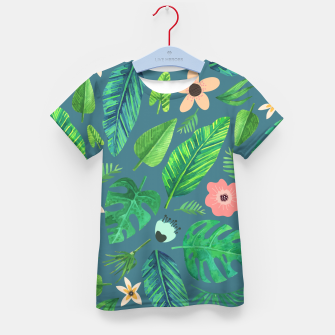 Thumbnail image of Tropical Life I  Kid's t-shirt, Live Heroes