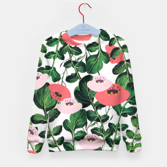 Thumbnail image of Parsnip & Poppies Kid's sweater, Live Heroes