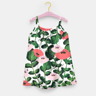 Thumbnail image of Parsnip & Poppies Girl's dress, Live Heroes