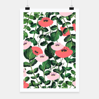 Thumbnail image of Parsnip & Poppies Poster, Live Heroes