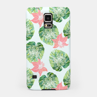 Thumbnail image of Monstera + Pink Samsung Case, Live Heroes