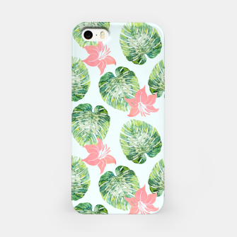 Thumbnail image of Monstera + Pink iPhone Case, Live Heroes