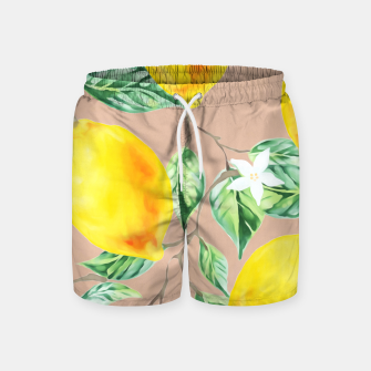 Thumbnail image of Lemon Fresh Swim Shorts, Live Heroes