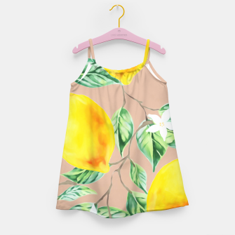 Thumbnail image of Lemon Fresh Girl's dress, Live Heroes