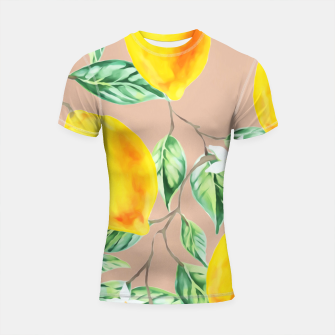 Thumbnail image of Lemon Fresh Shortsleeve rashguard, Live Heroes