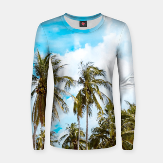Thumbnail image of Bali Woman cotton sweater, Live Heroes