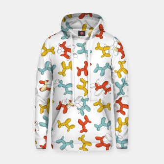 Thumbnail image of Balloon Dogs Cotton hoodie, Live Heroes