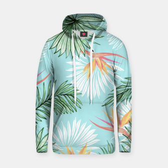 Tropic Palm Cotton hoodie thumbnail image