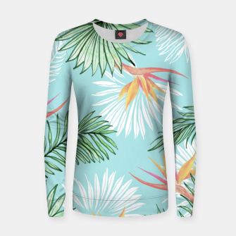 Tropic Palm Woman cotton sweater thumbnail image