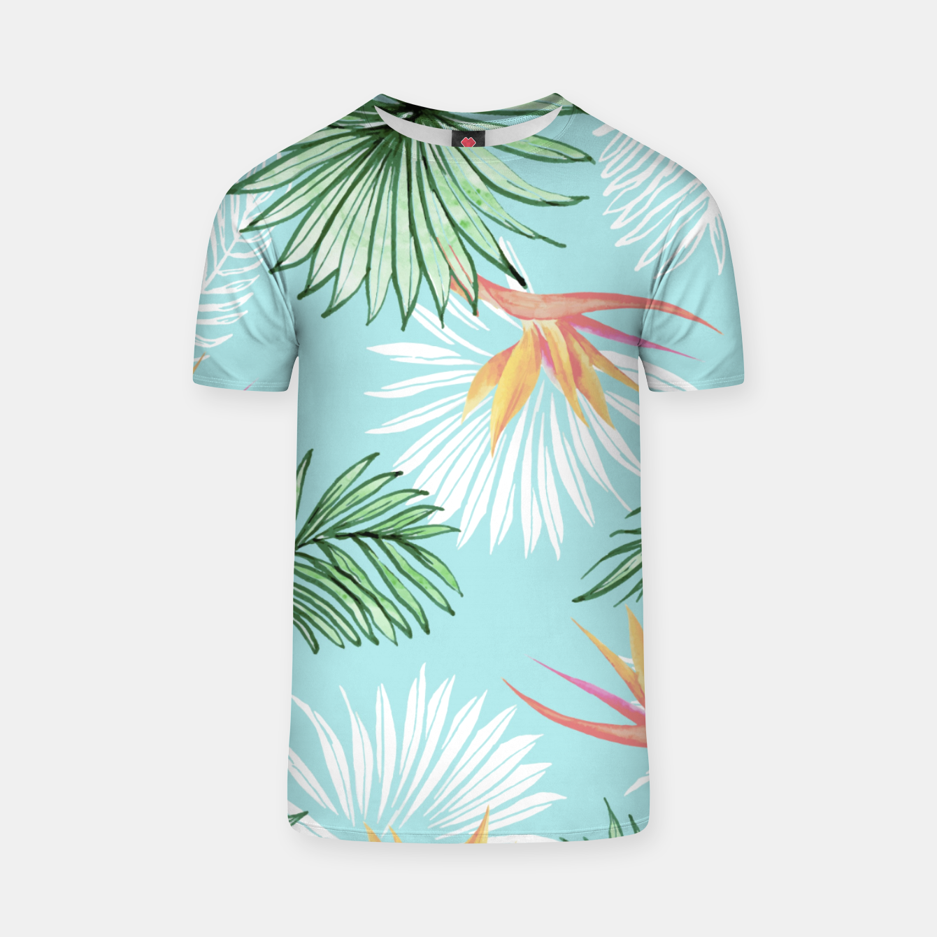 Image of Tropic Palm T-shirt - Live Heroes