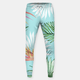 Tropic Palm Cotton sweatpants thumbnail image