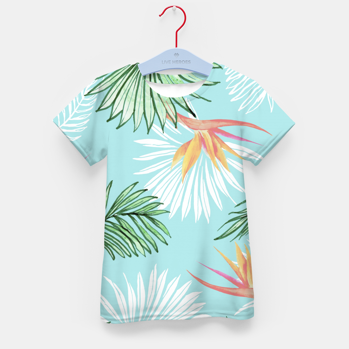 Image of Tropic Palm Kid's t-shirt - Live Heroes