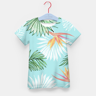 Thumbnail image of Tropic Palm Kid's t-shirt, Live Heroes