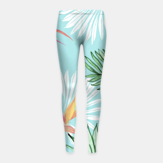 Tropic Palm Girl's leggings thumbnail image
