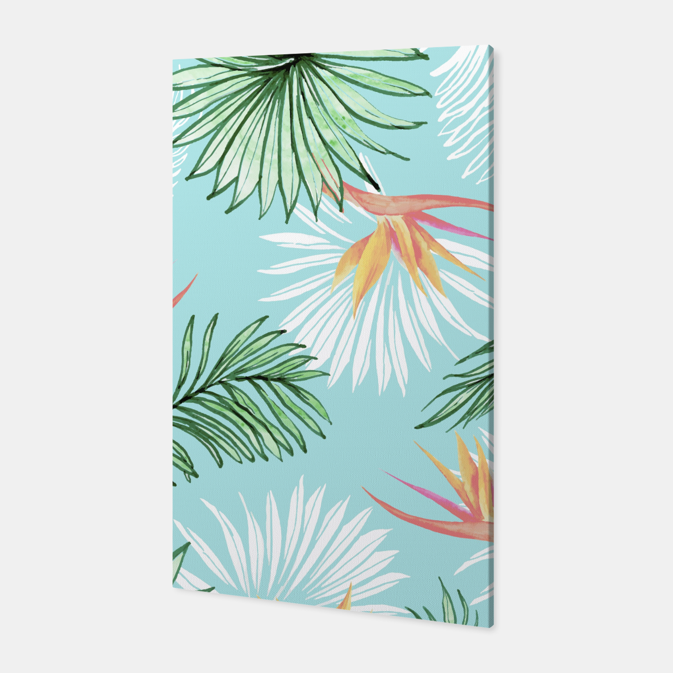 Image of Tropic Palm Canvas - Live Heroes