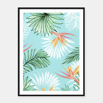 Tropic Palm Framed poster thumbnail image