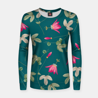 Miniatur Art of Nature Woman cotton sweater, Live Heroes