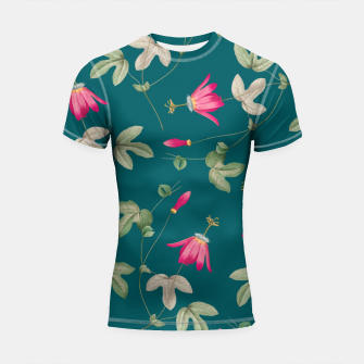 Thumbnail image of Art of Nature Shortsleeve rashguard, Live Heroes