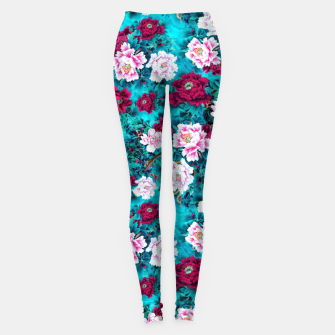 Thumbnail image of Peonies Leggings, Live Heroes