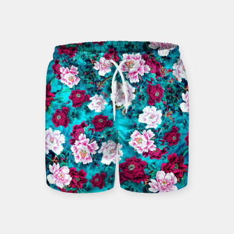 Peonies Swim Shorts miniature