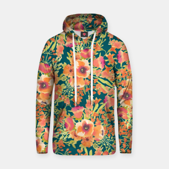 Thumbnail image of Floral Bunch Cotton hoodie, Live Heroes