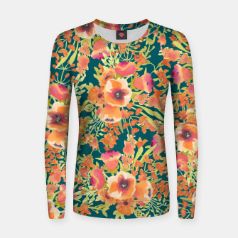 Thumbnail image of Floral Bunch Woman cotton sweater, Live Heroes