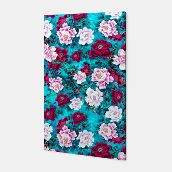 Peonies Canvas miniature