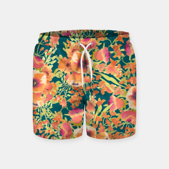 Thumbnail image of Floral Bunch Swim Shorts, Live Heroes