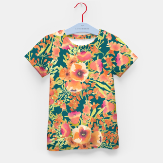 Thumbnail image of Floral Bunch Kid's t-shirt, Live Heroes