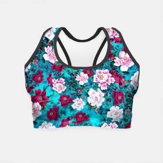 Peonies Crop Top miniature