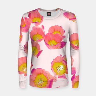 Thumbnail image of Flower Therapy Woman cotton sweater, Live Heroes