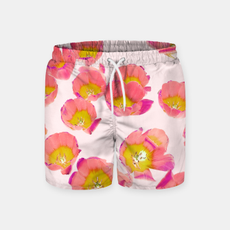 Thumbnail image of Flower Therapy Swim Shorts, Live Heroes