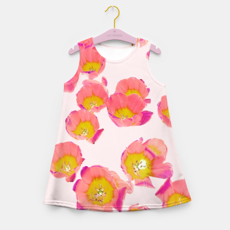 Thumbnail image of Flower Therapy Girl's summer dress, Live Heroes
