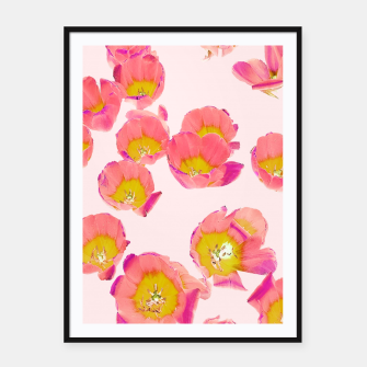 Thumbnail image of Flower Therapy Framed poster, Live Heroes
