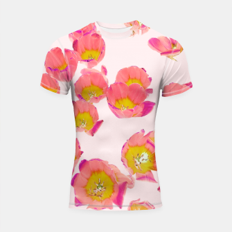 Thumbnail image of Flower Therapy Shortsleeve rashguard, Live Heroes