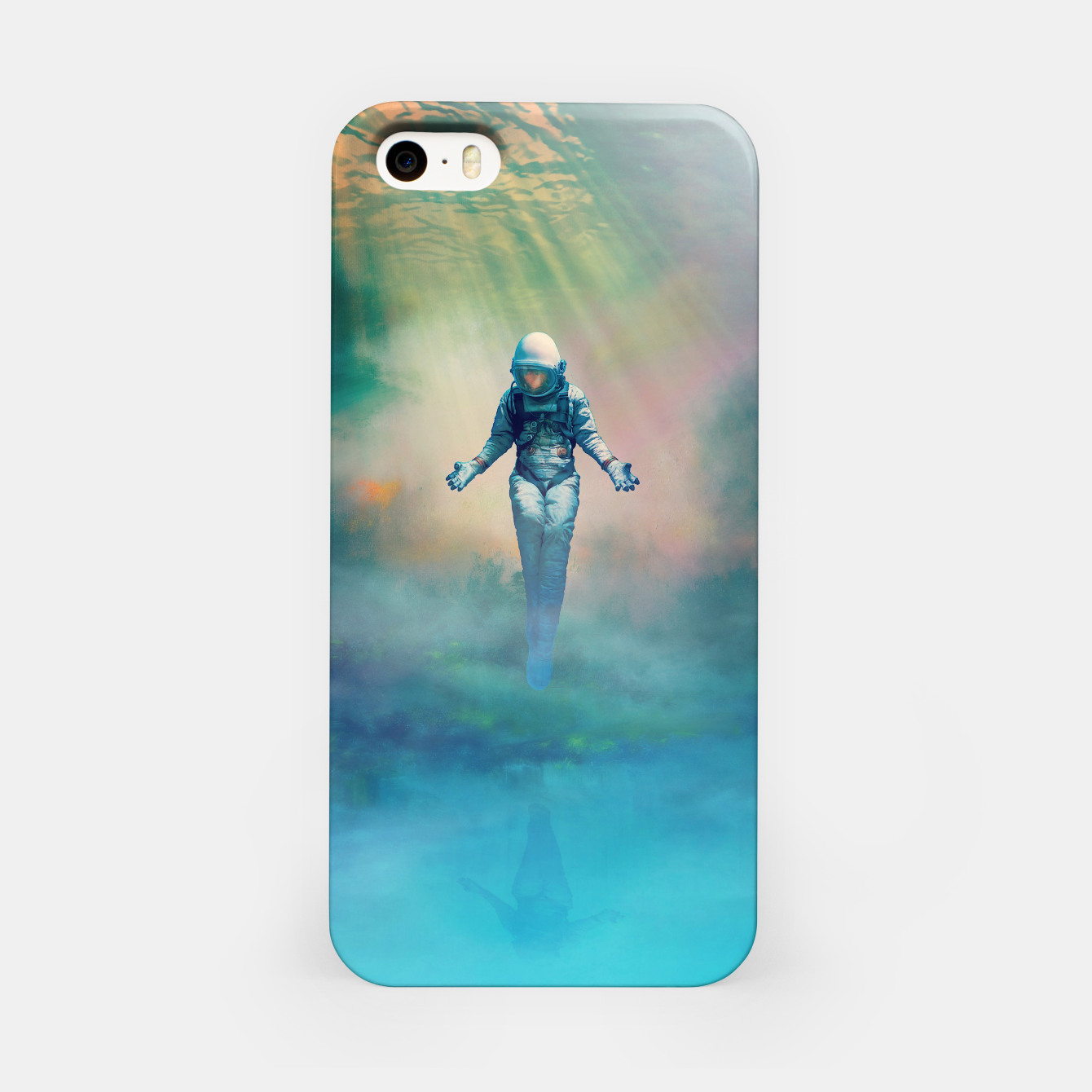 Image de Crucified in Time iPhone Case - Live Heroes