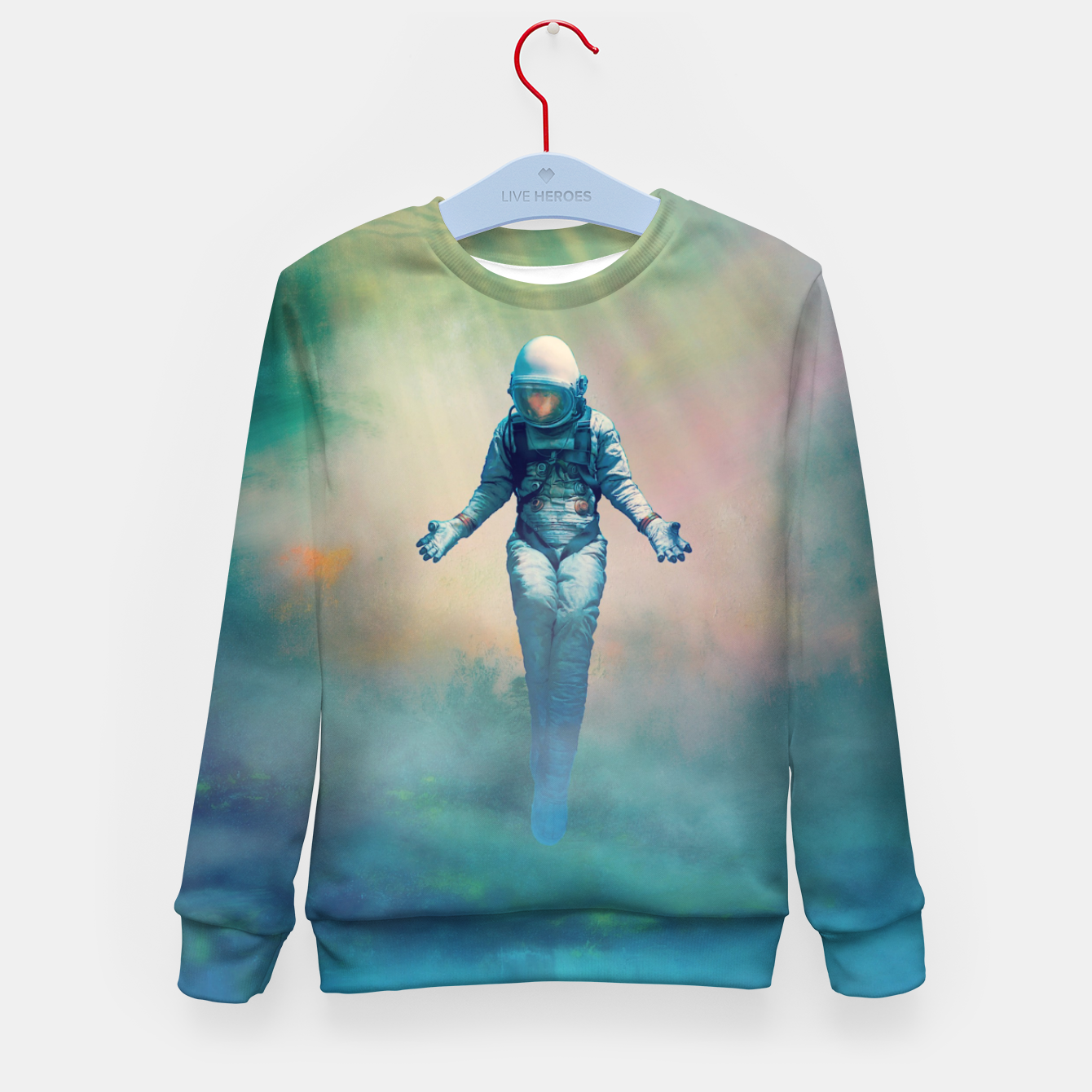 Image de Crucified in Time Kid's sweater - Live Heroes