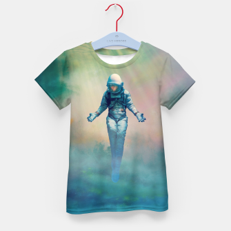 Crucified in Time Kid's t-shirt Bild der Miniatur